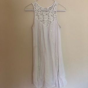 Old Navy White Lace Dress Size Small